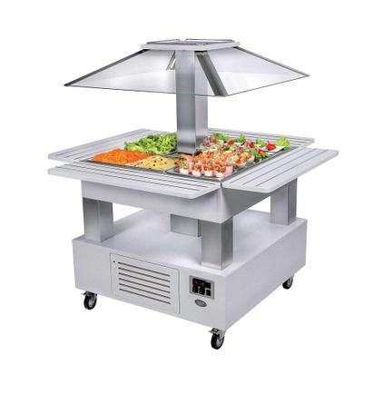 Buffet réfrigéré salade bar